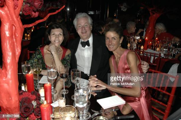 Pamela Fiori Jamie Figg and Somers Farkas attend Alison Mazzolaís Birthday Party hosted by George Farias and Anne and Jay McInerney at Doubles on...