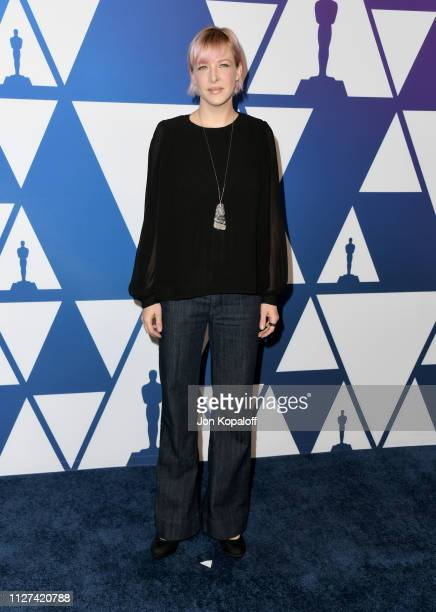 Pamela Goldammer attends the 91st Oscars Nominees Luncheon at The Beverly Hilton Hotel on February 04 2019 in Beverly Hills California