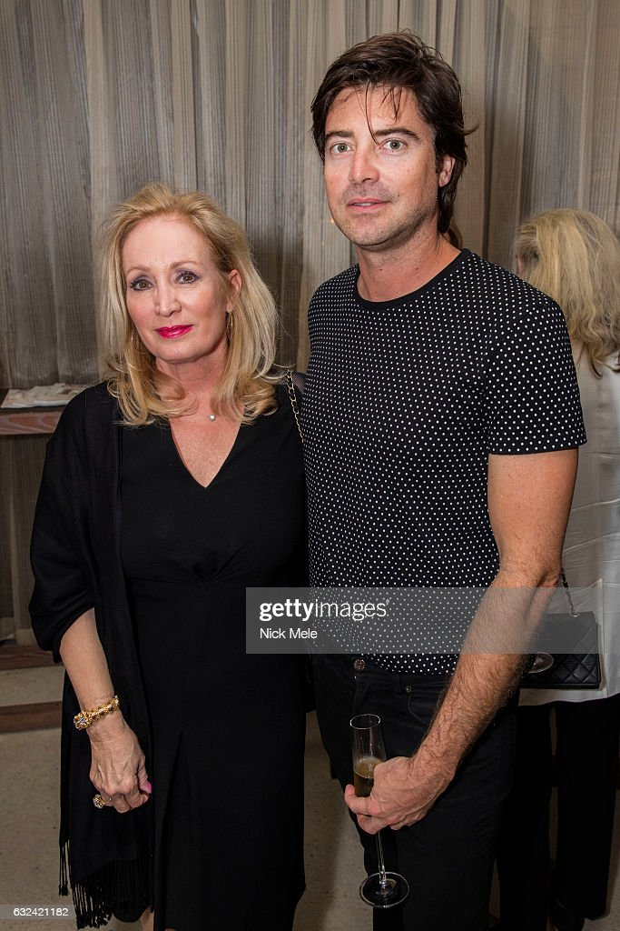 Pamela Gottfried and Victor Kubicek attend AVENUE Celebrates Kara Ross and the Palm Beach A List at Meat Market Palm Beach on January 19, 2017 in Palm Beach, FL.