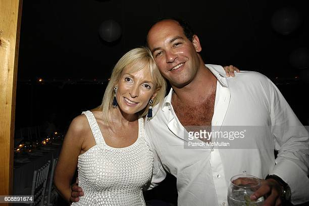 Pamela Gross and attend ULLA KEVIN PARKER Host White End Of Summer Party at on August 31 2007
