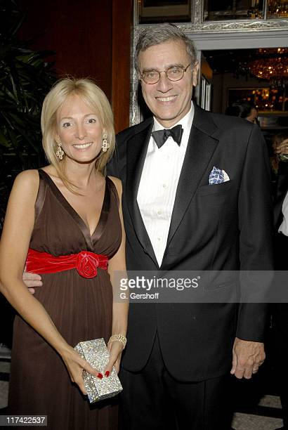 Pamela Gross and James Finkelstein during The Elton John AIDS Foundation's Fifth Annual Benefit An Enduring Vision Presented by Bath and Body Works...