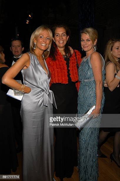 Pamela Gross Finkelstein and Debbie Bancroft attend The Henry Street Settlement 2005 Dinner Dance and Auction at The Puck Building on October 25 2005...