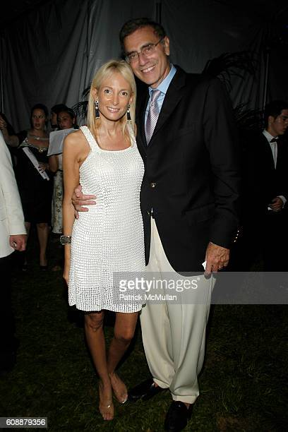 Pamela Gross Finkelstein and Jimmy Finkelstein attend The 49th Annual Summer Party ON THE TOWN to Benefit SOUTHAMPTON HOSPITAL Emergency Services at...