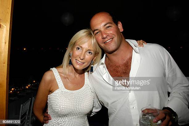 Pamela Gross Finkelstein and Todd Meister attend ULLA KEVIN PARKER Host White End Of Summer Party at Parker/Private Residence on August 31 2007