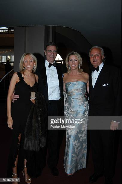 Pamela Gross Finkelstein Jimmy Finkelstein Deborah Norville and Karl Wellner attend 20th Anniversary Celebration of ON STAGE AT THE MET at The...