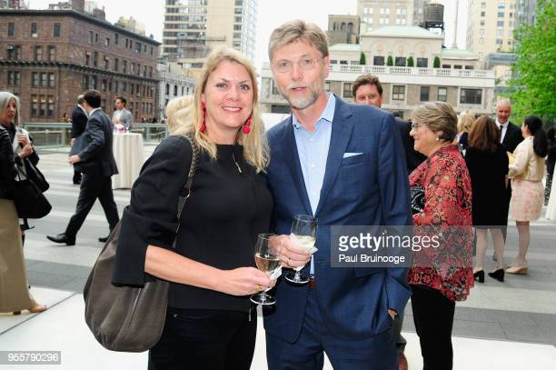 Pamela Harrington and Anton Gueth attend the 2018 Change Maker Awards at Carnegie Hall on May 7 2018 in New York City