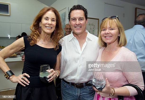 Pamela Hollander Grant Withers and Susan Michals attend the Rema Hort Mann Foundation conversation with Susan and Michael Hort on September 28 2013...