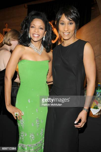 Pamela Joyner and Desiree Rogers attend THE SCHOOL OF AMERICAN BALLET Winter Ball 2009 at David H Koch Theater on March 9 2009 in New York City