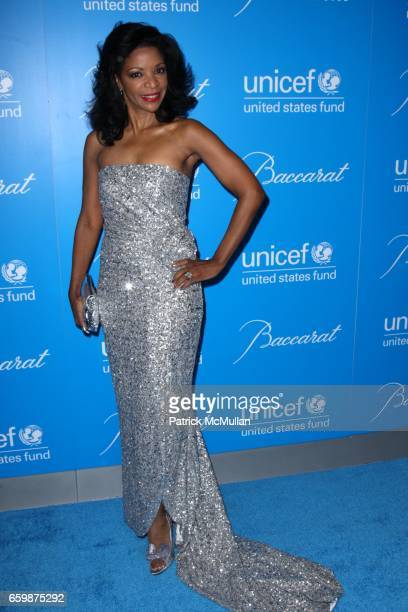 Pamela Joyner attends 2009 UNICEF SNOWFLAKE BALL at Cipriani 42nd St on December 2 2009 in New York City