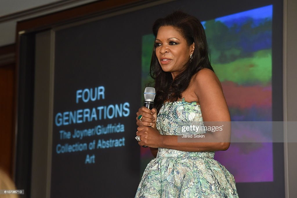 "Abstracted Black Tie Dinner Hosted by Pamela Joyner & Fred Giuffrida, and the Ogden Museum of Southern Art, to Celebrate the Artists and Writers in the Publication ""Four Generations, The Joyner/Giuffrida Collection of Abstract Art"" : News Photo"