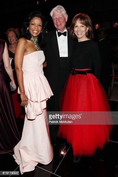 Pamela Joyner Rick Beinecke and Candace Beineke attend THE SCHOOL OF AMERICAN BALLET Winter Ball 2010 at David H Koch Theater on March 1 2010 in New...