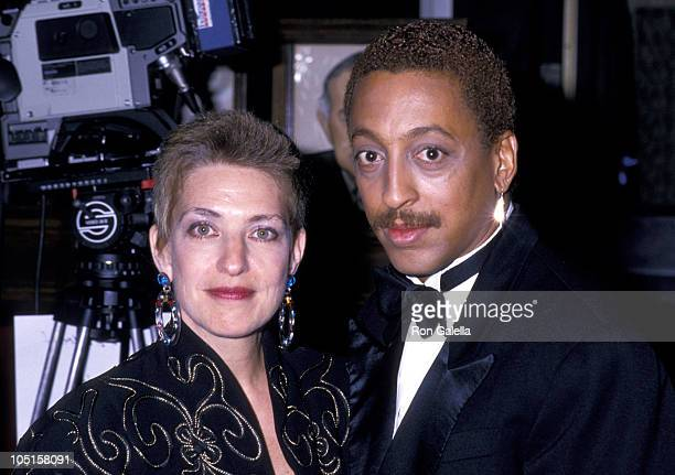 Pamela Koslow Hines and Gregory Hines during 42nd Annual Tony Awards in New York City NY United States