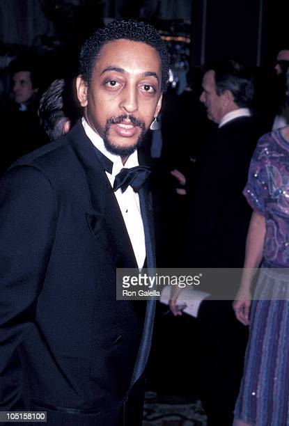 Pamela Koslow Hines and Gregory Hines during AFI Life Achievement Awards Honoring Gene Kelly at Beverly Hilton Hotel in Beverly Hills CA United States