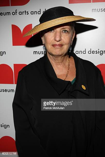 Pamela KoslowHines attends The Museum of Arts and Design Upper Level Members Reception Members Reception with Artists Designers at Museum of Arts and...