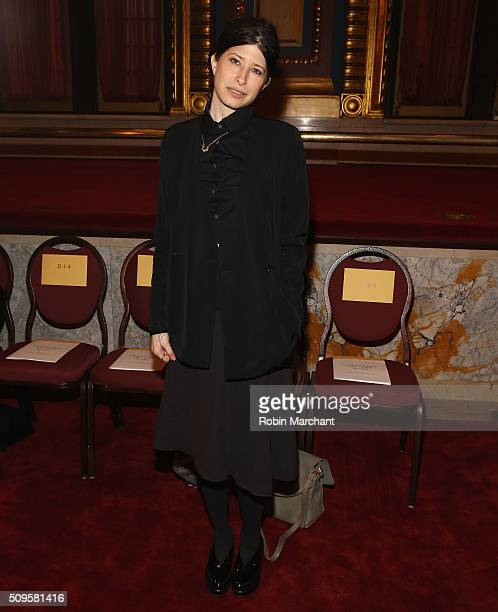 Pamela Love attends Creatures of the Wind during Fall 2016 New York Fashion Week on February 11 2016 in New York City