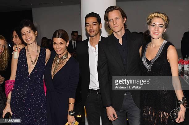 Pamela Love Jenne Lombardo Tenzin Wild Magnus Berger and Chelsea Leyland attend WSJ Magazine's Innovator Of The Year Awards at MOMA on October 18...