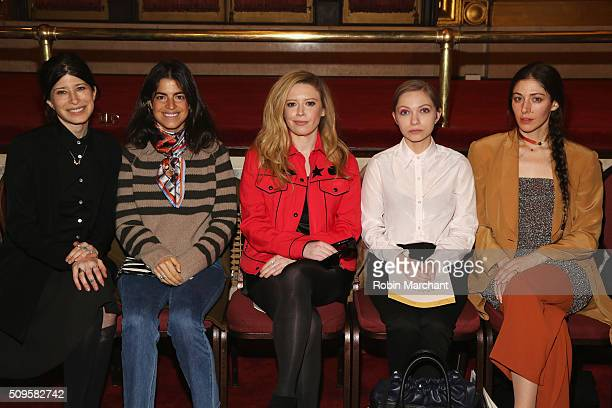 Pamela Love Leandra Medine Natasha Lyonne Tavi Gevinson and Caroline Polacheck attend Creatures of the Wind during Fall 2016 New York Fashion Week on...