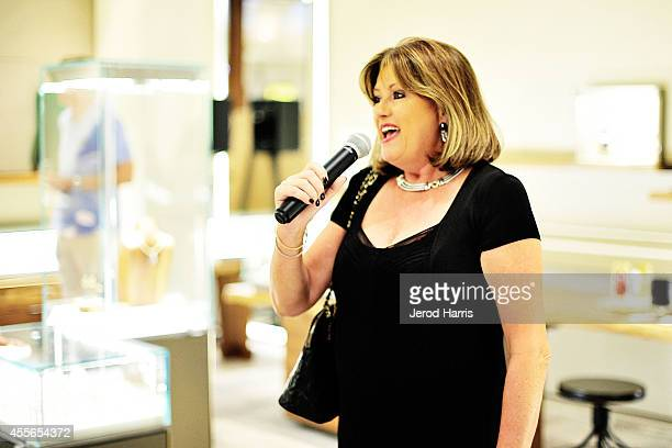 Pamela Lowry attends David Yurman with RIVIERA host an instore event to celebrate the 'Enduring Style' fall campaign on September 17 2014 in Costa...