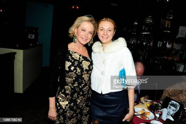 Pamela Morgan and Alisa Roever attend Cheri Kaufman's Birthday at Kaufman Astoria Studios on November 29 2018 in the Queens borough of New York City