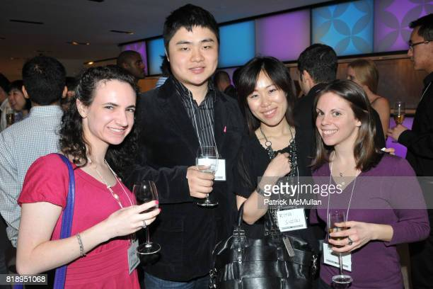 Pamela Morris Cheng Fang Rita Suzuki and Christine Centola attend LOUIS VUITTON Hosts UNIVERSITY of WATERLOO Alumni Event at Louis Vuitton Fifth...