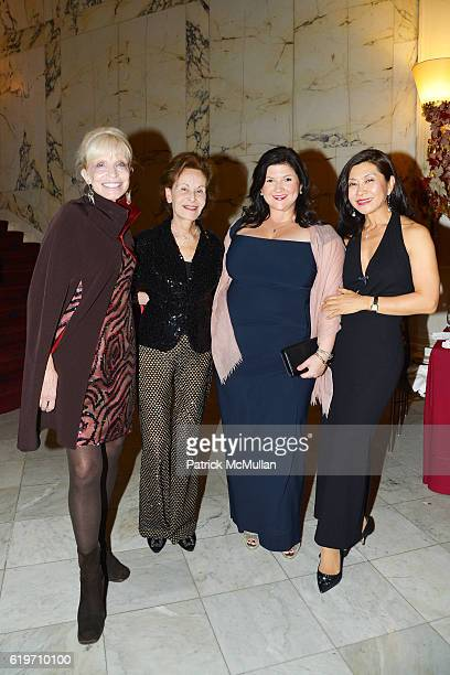 Pamela Newman Susan Rose Katherine Thomas and Younghee KimWait attend the Oxford Philharmonic Orchestra's US Premier Performance with Artist in...