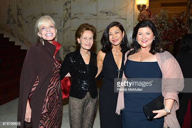 Pamela Newman Susan Rose Younghee KimWait and Katherine Thomas attend the Oxford Philharmonic Orchestra's US Premier Performance with Artist in...