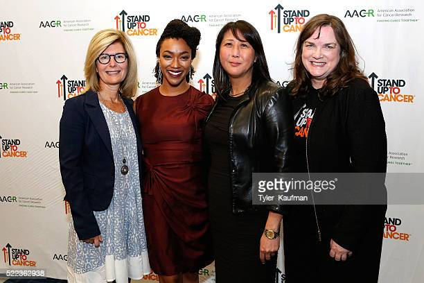 Pamela Oas Williams, Council of Founders and Advisors, Stand Up to Cancer, Sonequa Martin-Green, Sung Poblete, PhD, RN, President and CEO of Stand Up...