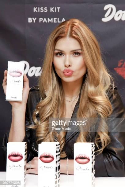 Pamela Reif during the Influencer at Douglas KissKits event on March 12 2018 in Hamburg Germany