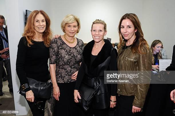 Pamela Robinson Gail Hollander Dana Kaller and Karyn lovegrove attend The Rema Hort Mann Foundation LA Artist Initiative Benefit Auction on November...