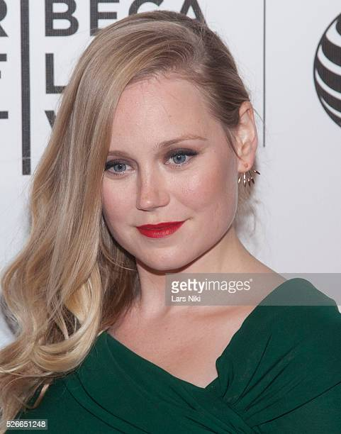 Pamela Romanonski attends 'The Adderall Diaries' premiere during the 2015 Tribeca Film Festival at the BMCC in New York City �� LAN