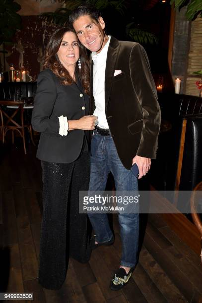 Pamela Rothenberg and Stuart Rothenberg attend Billy Macklowe's 50th Birthday Spectacular at Chinese Tuxedo on April 21 2018 in New York City