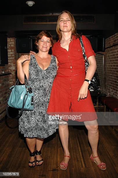 Pamela Ruiz and Artist Julika Rudelius attend The Autobiography And Sex Life Of Andy Warhol book party at The subMercer on June 23 2010 in New York...