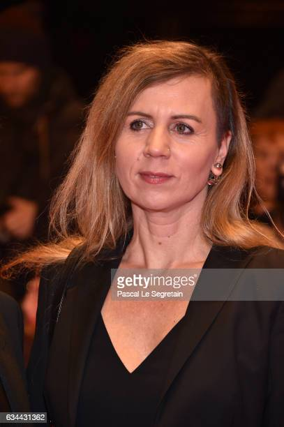 Pamela Schobess attends the 'Django' premiere during the 67th Berlinale International Film Festival Berlin at Berlinale Palace on February 9, 2017 in...