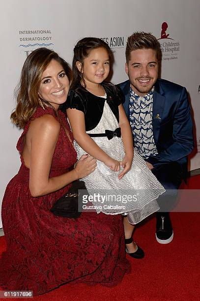 Pamela Silva Conde and William Valdes attends the 9th Annual International Dermatology It's All About the Kids Benefit at JW Marriott Marquis on...