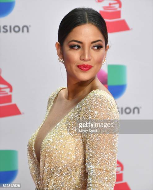 Pamela Silva Conde attends the 18th Annual Latin Grammy Awards at MGM Grand Garden Arena on November 16 2017 in Las Vegas Nevada