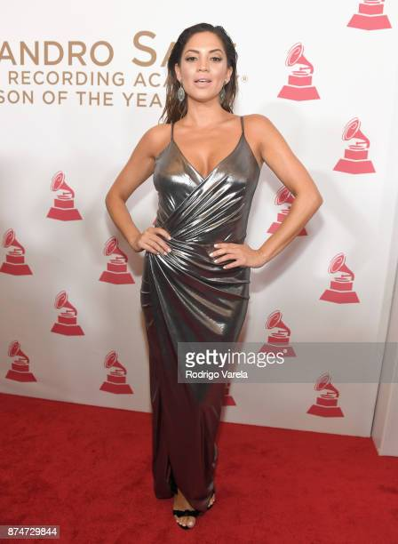 Pamela Silva Conde attends the 2017 Person of the Year Gala honoring Alejandro Sanz at the Mandalay Bay Convention Center on November 15, 2017 in Las...
