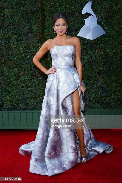 Pamela Silva Conde attends the 20th annual Latin GRAMMY Awards at MGM Grand Garden Arena on November 14 2019 in Las Vegas Nevada