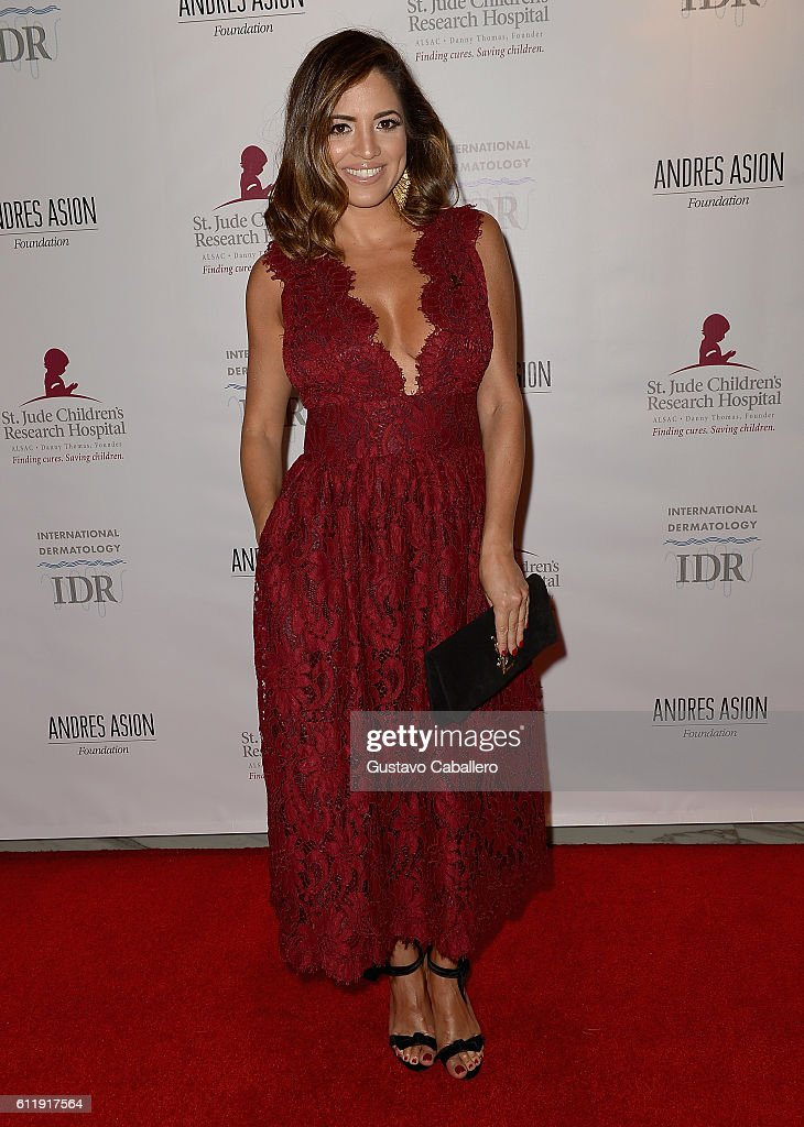 Pamela Silva Conde attends the 9th Annual International Dermatology 'It's All About the Kids' Benefit at JW Marriott Marquis on October 1, 2016 in Miami, Florida.