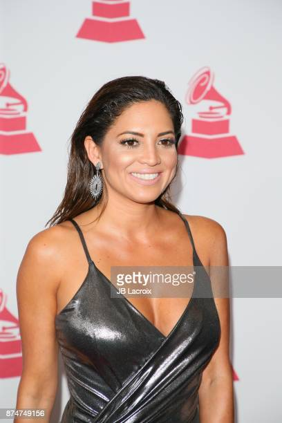 Pamela Silva Conde attends the Latin Recording Academy's 2017 Person Of The Year Gala on November 15 2017 in Las Vegas California