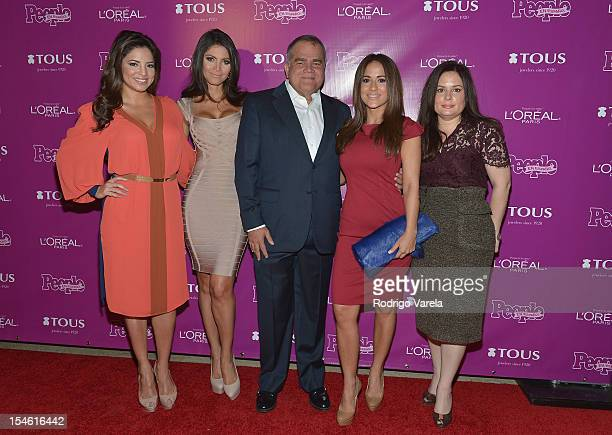 Pamela Silva Conde Chiquinquira Delgado Armando Correa Jackie Guerrido and Jessica Rodriguez attend People En Espanol 25 Most Powerful Women Luncheon...