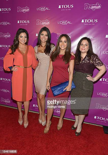 Pamela Silva Conde Chiquinquira Delgado Jackie Guerrido and honoree Jessica Rodriguez attend People En Espanol 25 Most Powerful Women Luncheon at The...