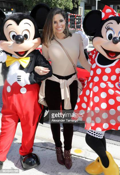 Pamela Silva is seen at the 2018 Three Kings Day Parade on January 14 2018 in Miami Florida