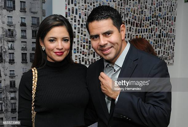 Pamela SilvaConde and Cesar Conde attends Raul de Molina's 12th Annual Art Basel Miami Party on December 2 2013 in Miami Florida