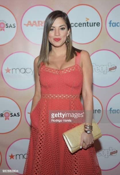 Pamela SilvaConde arrives at the People en Espanol's 25 Most Powerful Women Luncheon 2018 on March 16 2018 in Miami Florida