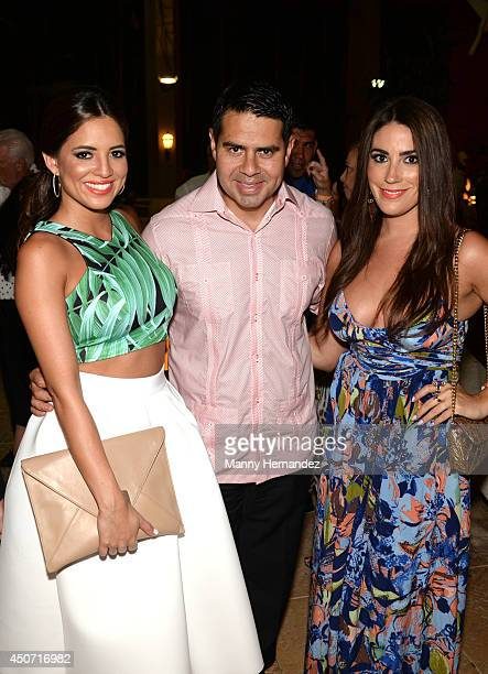 Pamela SilvaConde Cesar Conde and Luly Valls attends Amigos For Kids Voya Miami Celebrity Domino Night at Jungle Island at Jungle Island on June 14...