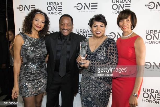 Pamela Simpson Donnie Simpson April Ryan and Baltimore mayor Catherine Pugh attend 2018 Urban One Honors at The Anthem on December 9 2018 in...