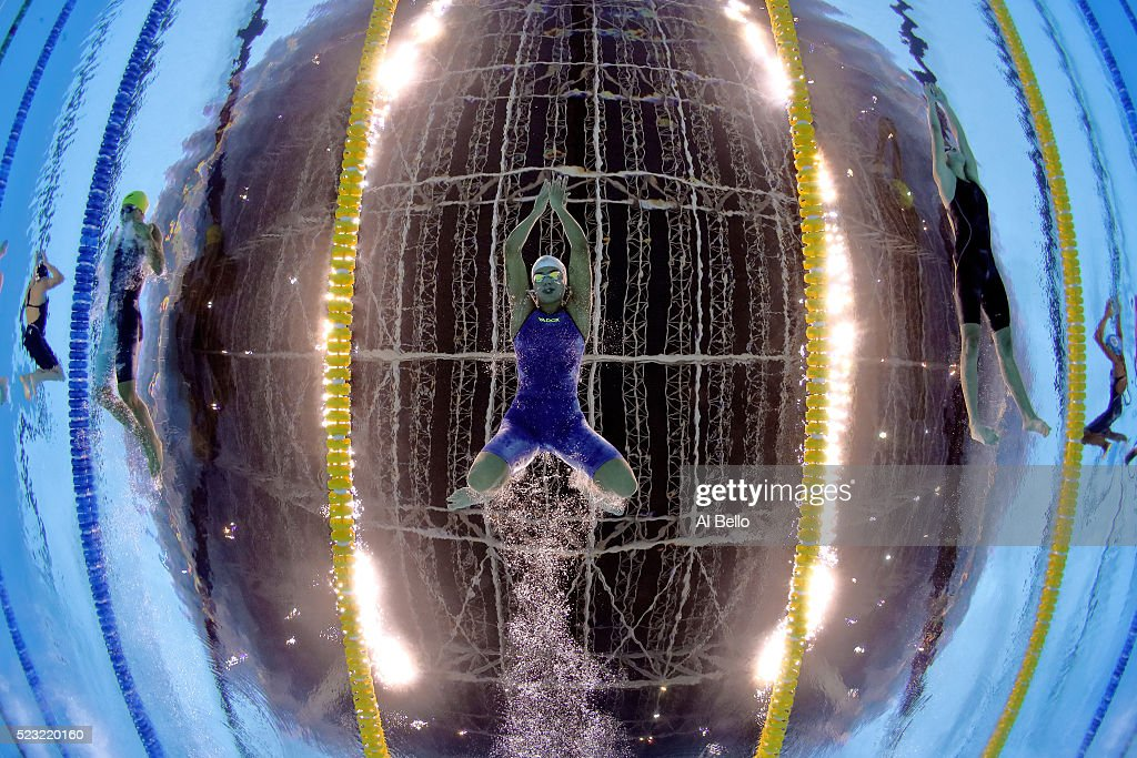 Maria Lenk Swimming Trophy  - Aquece Rio Test Event for the Rio 2016 Olympics Day 3 : News Photo