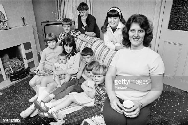 Pamela Spence and family recently moved home to Arthur Street Small Heath Birmingham 7th October 1969
