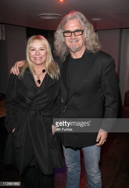 Pamela Stephenson and BIlly Connolly attend the 'Interview' Premiere After Party as part of the BFI 51st London Film Festival at No1 Leicester Square...