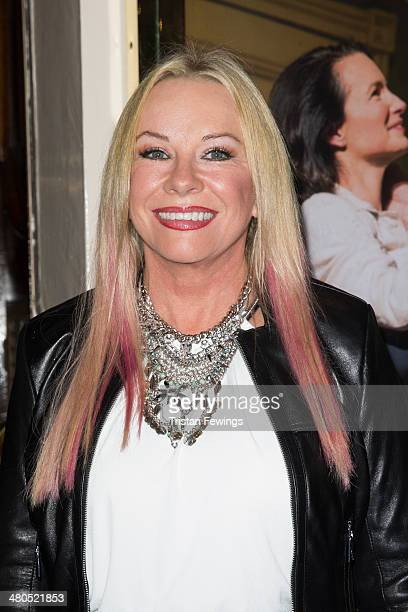 Pamela Stephenson attends the press night of Fatal Attraction at Theatre Royal on March 25 2014 in London England